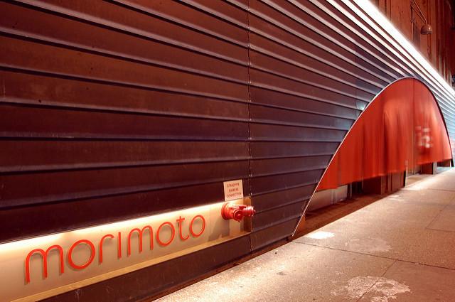安藤忠雄設計のレストランMORIMOTO