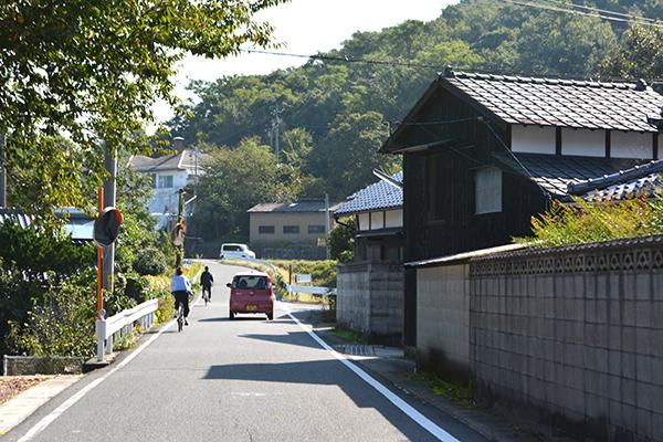 豊島の町並み
