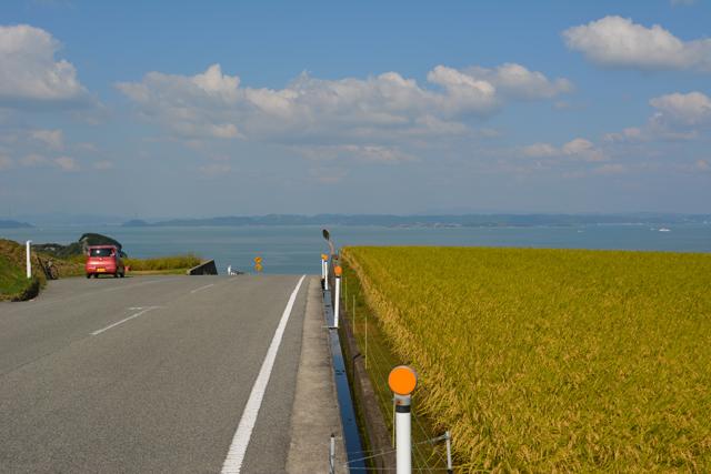 豊島から見る瀬戸内海