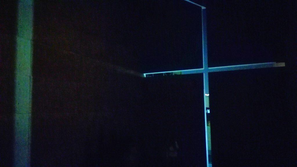 光の教会原寸大