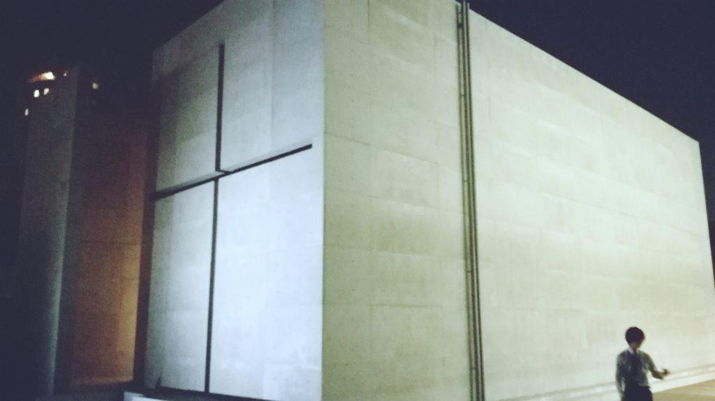 光の教会建物の外観
