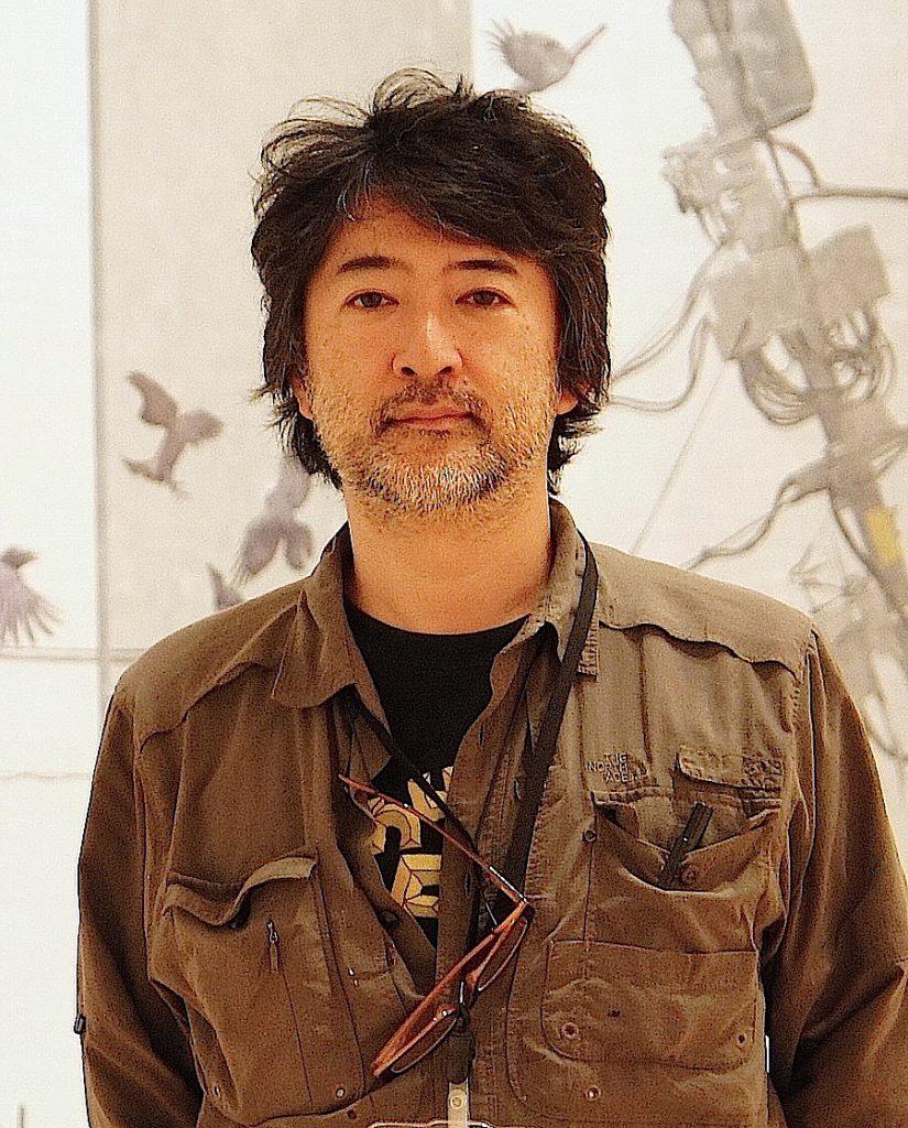 会田誠の肖像写真
