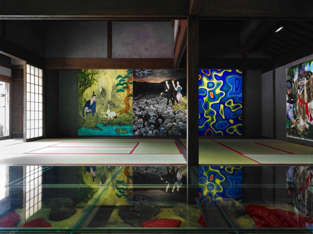 豊島横尾館内部の作品